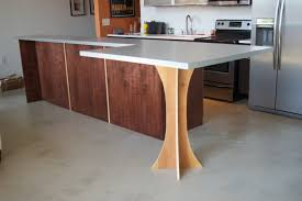 L Shaped Island Kitchen by L Shaped Kitchen Islands With Additional Single Base Bar Combined