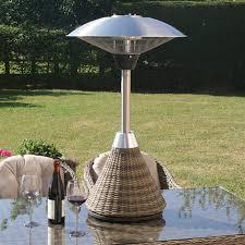 sunjoy patio heater lava heat italia mini ember tabletop liquid propane patio heater