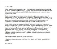 ending of business letter the letter sample