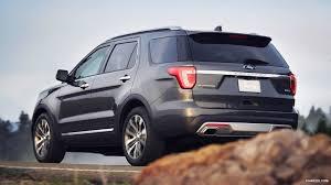 Ford Explorer Platinum - 2016 ford explorer platinum rear hd wallpaper 4