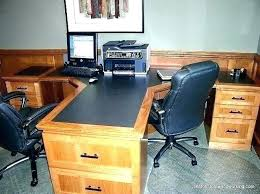 Home Office Desks For Two Two Person Desk Home Office Furniture Fin Soundlab Club