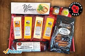 summer sausage gift basket new gift baskets wisconsin s best gift baskets