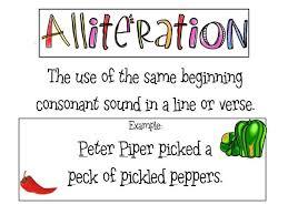 powerschool learning cordero u0027s comets alliteration personification