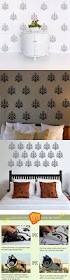 best ideas about flower wall stickers pinterest french damask flower wall sticker diy art vinyl decals for retro style home decor pcs set