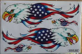 Free American Flag Stickers American Flag Eagle Sticker Decal Bumper Stickers Decal