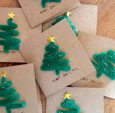 kids christmas card crafts home design inspirations