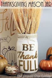 easy to make fall decorations diy thanksgiving table decor use a mason jar twine and painters