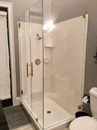 Shower With Door Frameless Shower Doors Builders Glass Of Bonita Inc