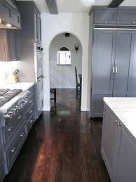 grey kitchen cabinets wood floor grey kitchen cabinets wood floor doublexit info