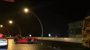 laferrari crash laferrari heavily wrecked after crashing in shanghai