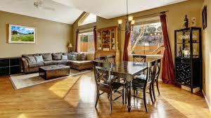 open floor plan living room kitchen open floor plans picture concept rustic with