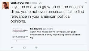 j k rowling on twitter