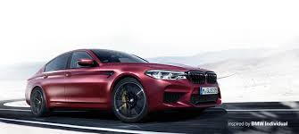 first bmw bmw m5 with m xdrive first edition inspired by bmw individual