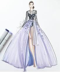 blue fashion fashion sketch pinterest blue fashion fashion