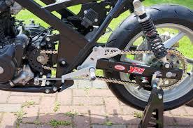 honda cb 500 fixed rearsets honda cb500 94 03 race shift rsh024