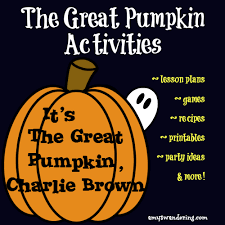activities for it s the great pumpkin brown