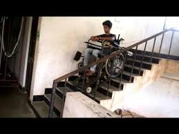 design and development of electric powered stair climbing