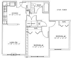 2 bedroom cottage plans 2 bedroom cottage plans two bedroom house plans designs