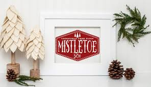 mistletoe christmas tree farm svg by ro design bundles