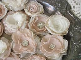 fabric wedding flowers for decorations 12 flowers u2013 burlap and