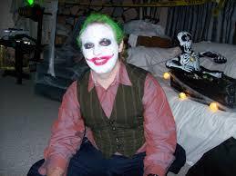 Joker Halloween Mask Absurdity Devin As Joker For Halloween