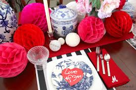 Valentines Day Tablescapes by Valentine U0027s Day Tablescape In My Favorite Colors Confettistyle