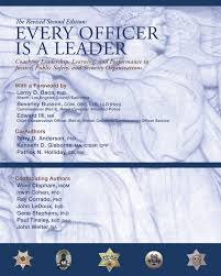 every officer is a leader coaching leadership learning and