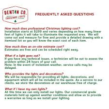 cost to have christmas lights put up denton co christmas lights home facebook