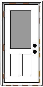 How To Install A Prehung Exterior Door Breathtaking Prehung Exterior Door Opening Contemporary