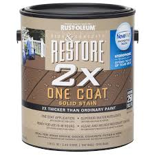 shop rust oleum restore tintable resurfacer actual net contents