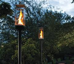 patio lights uk outdoor gas lamps and lighting tempest torch