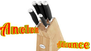 anolon kitchen knives anolon advanced knife block