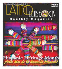 september latino lubbock vol 9 issue 9 by christy martinez garcia