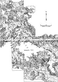 palo duro state park map the geologic of palo duro by william a matthews iii