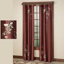 Embroidered Curtain Panels Curtains Embroidered Decorate The House With Beautiful Curtains