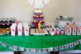 baseball party ideas pink parsley smith s rookie of the year birthday party