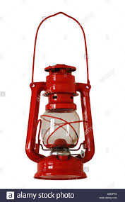French Quarter Gas Lanterns by Red Gas Lantern Light Lamp Bulb Lantern Burning Lit Alight Antique
