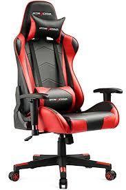 amazon com gtracing ergonomic office chair racing chair backrest
