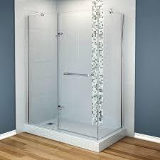 maax reveal 33 7 8 in x 60 in x 71 5 corner shower enclosure