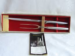 gerber kitchen knives vintage gerber legendary blades carving set balmung seigfried