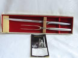 Ebay Kitchen Knives Vintage Gerber Legendary Blades Carving Set Balmung Seigfried