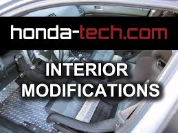 interior modifications for the honda accord youtube
