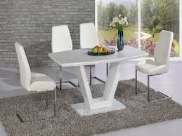 modern white dining room table furnitures beautiful white dining room table and chairs white