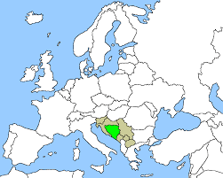Bosnia Map Circlist Bosnia