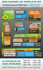 web banner ad template set by echocodesign graphicriver