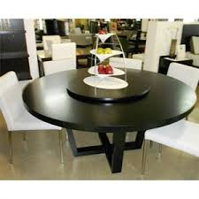 interesting design round dining table with lazy susan strikingly