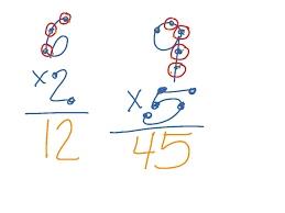 showme touch point math multiplication