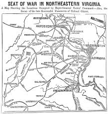 Map Of Northern Virginia The American Civil War