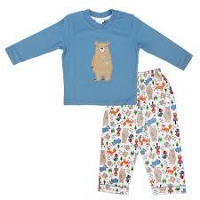 mini vanilla boys pyjamas blue childrens outlet