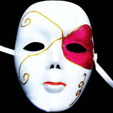 costume masks diy scary white mask masquerade party costume